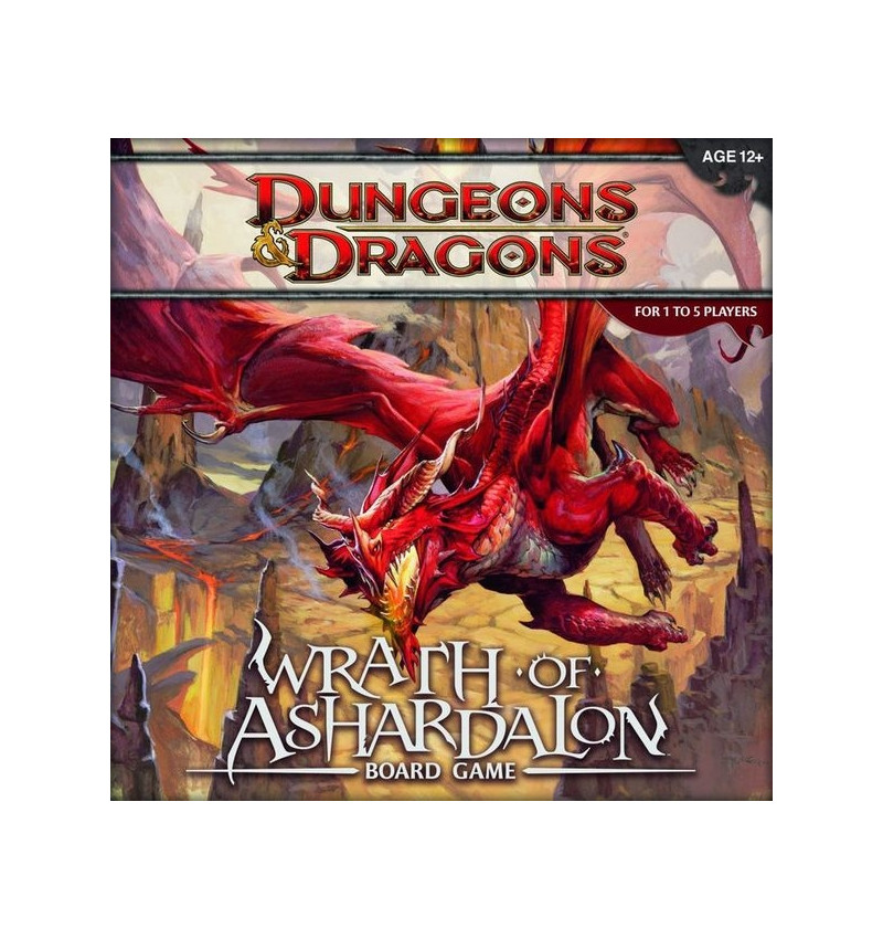 Dungeons & Dragons Wrath of Ashardalon boardgame